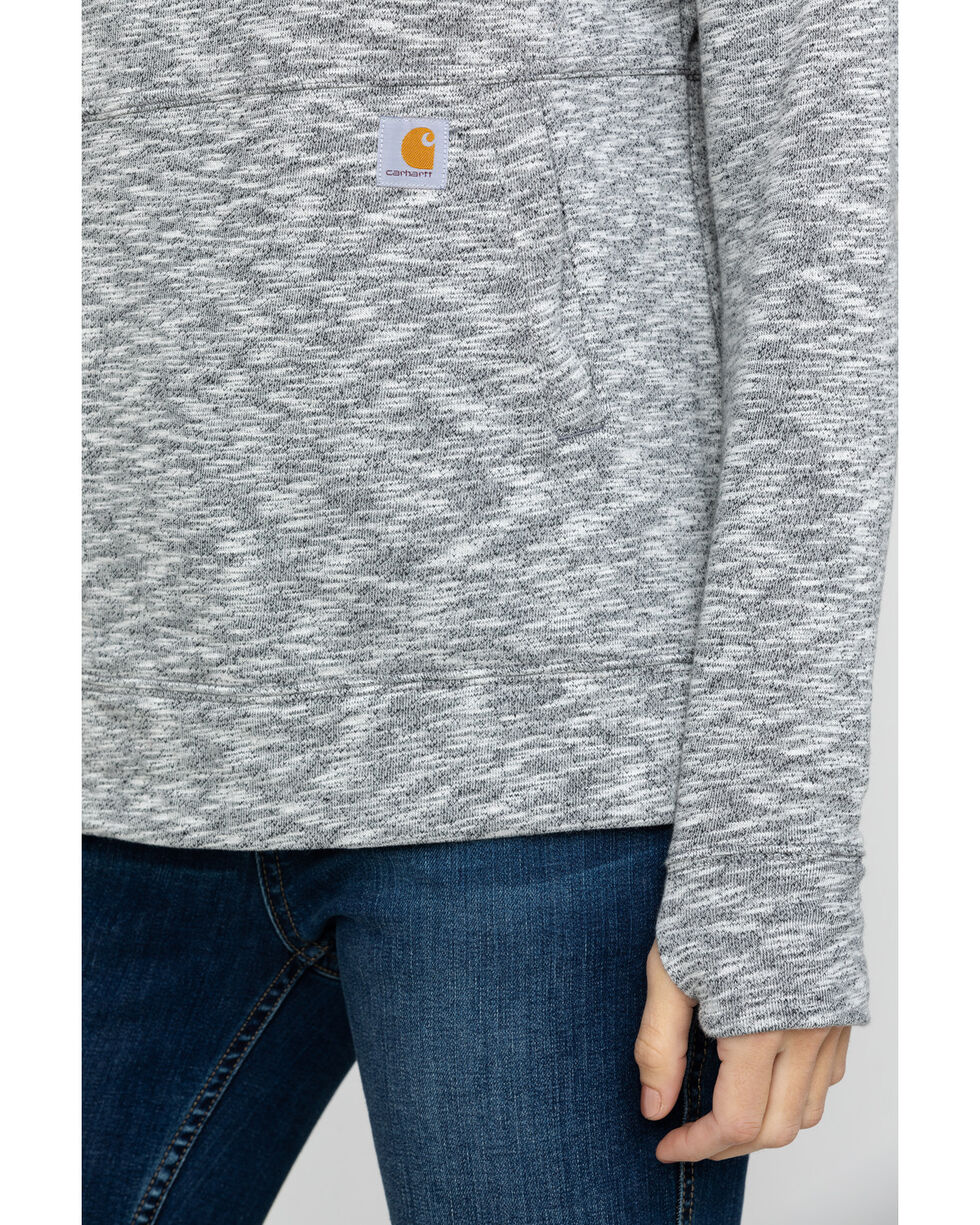 Carhartt Women's Newberry Hoodie, Black, hi-res