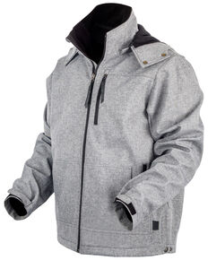 STS Ranchwear Boys' Grey Youth Barrier Softshell Jacket , Heather Grey, hi-res