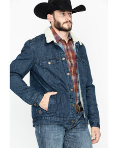 Cody James Men's Grand Teton Denim Jacket , Indigo, hi-res