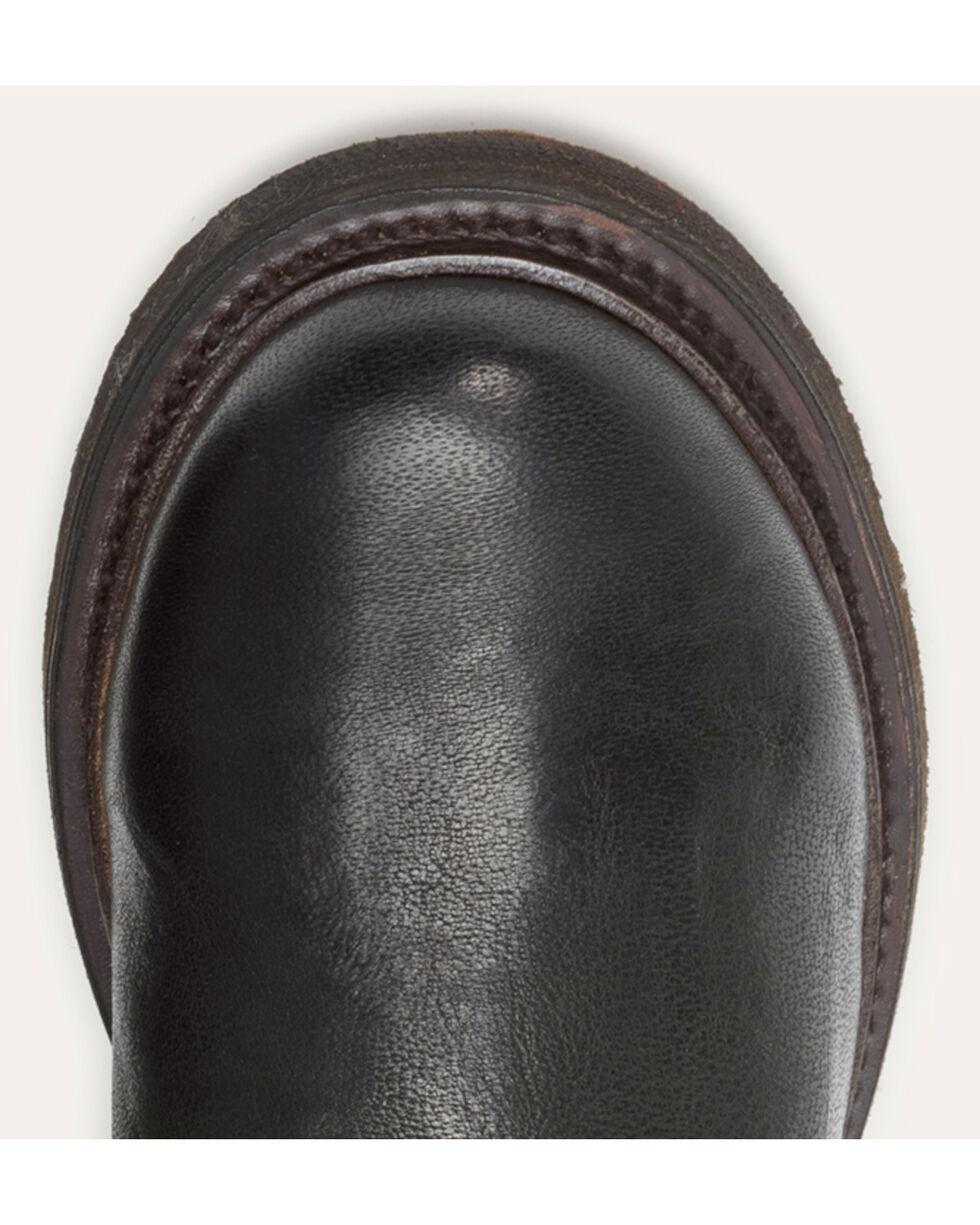 Frye Women's Black Valerie OTK Shearling Tall Boots - Round Toe , Black, hi-res