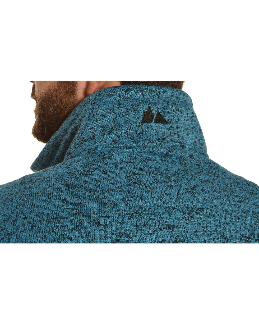 Powder River Outfitters Men's Blue Sweater Fleece Vest, Blue, hi-res