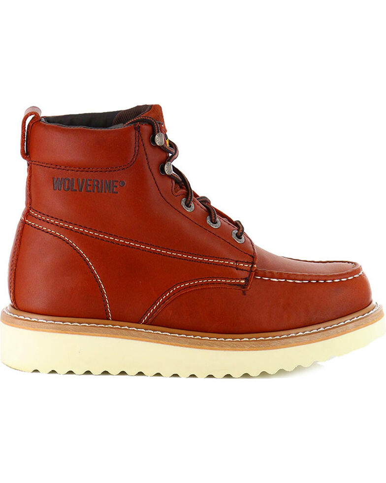 f305f5da241 Wolverine Men's Moc-Toe Work Boots