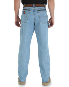 Wrangler Men's Riggs Workwear Relaxed Carpenter Jeans - Big , Indigo, hi-res