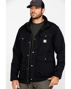 Carhartt Men's Utility Lightweight Work Coat - Big  , Black, hi-res