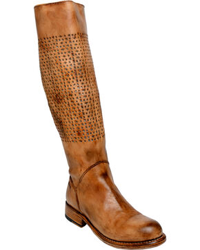 Bed Stu Women's Cambridge Tall Boots, Tan, hi-res