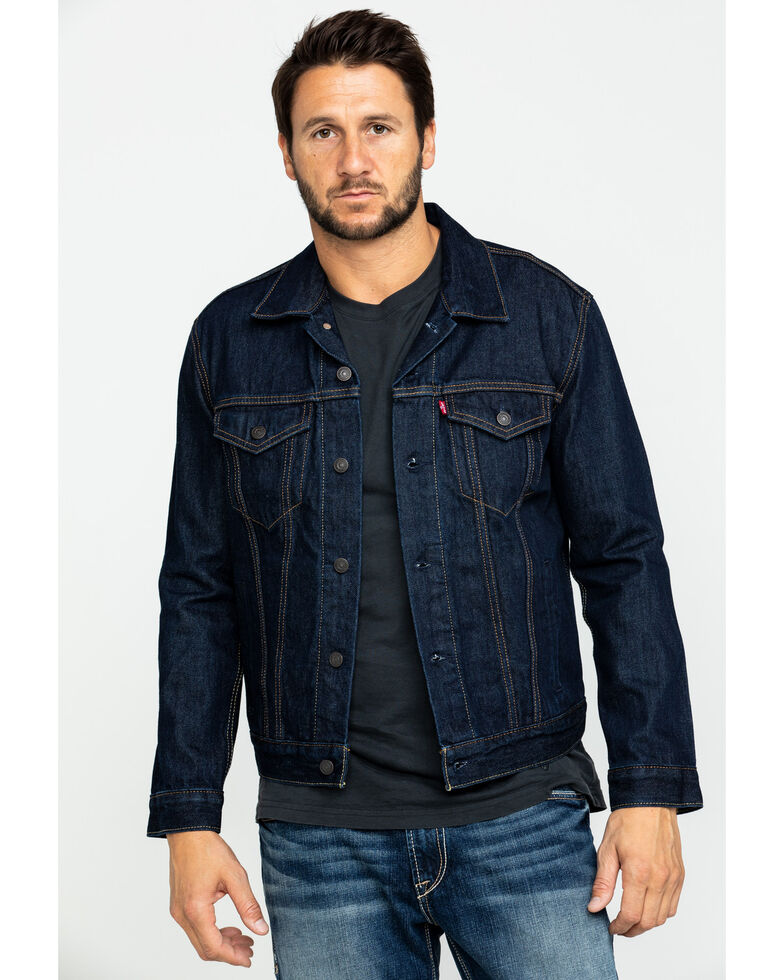 Levi's Men's Indigo Trucker Jacket , Indigo, hi-res
