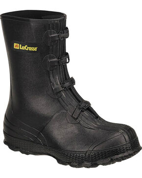 LaCrosse Men's Z-Series Overshoes Rubber Boots, Black, hi-res
