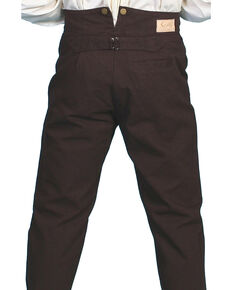 Scully Men's Canvas Pants, Walnut, hi-res
