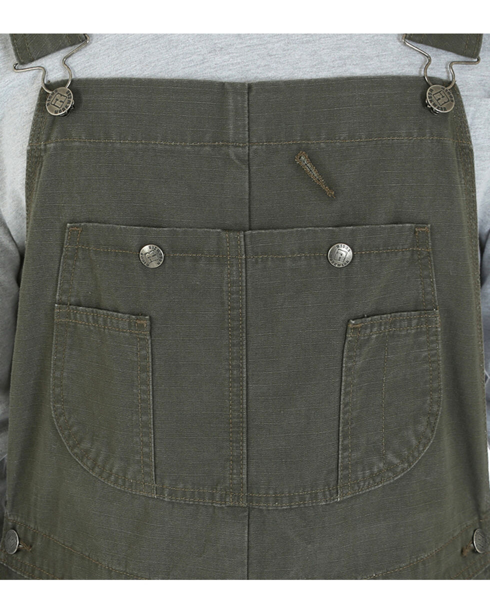 Riggs Workwear Men's Ripstop Bib Overalls, Green, hi-res