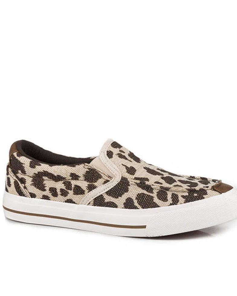 Roper Women's Angel Fire Leopard Sneakers, Brown, hi-res