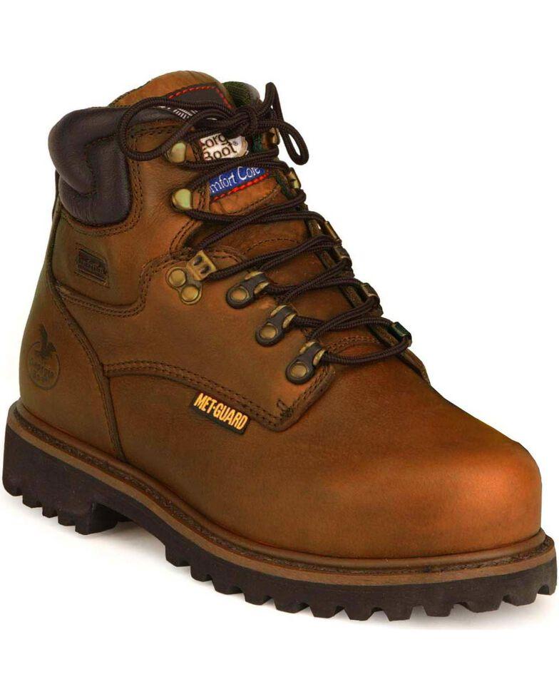 "Georgia Men's Internal Metatarsal Heritage 6"" Work Boots, Briar, hi-res"