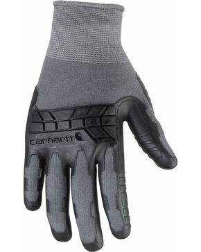 Carhartt Men's Knuckler Gloves , Grey, hi-res