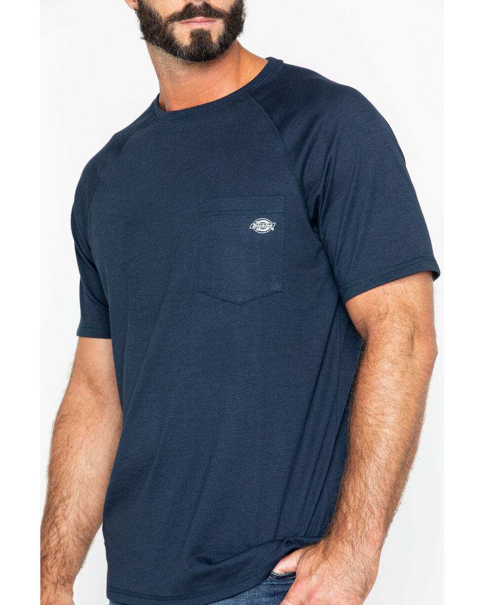 Dickies Men's Navy Temp-IQ Performance Cooling T-Shirt, Navy, hi-res