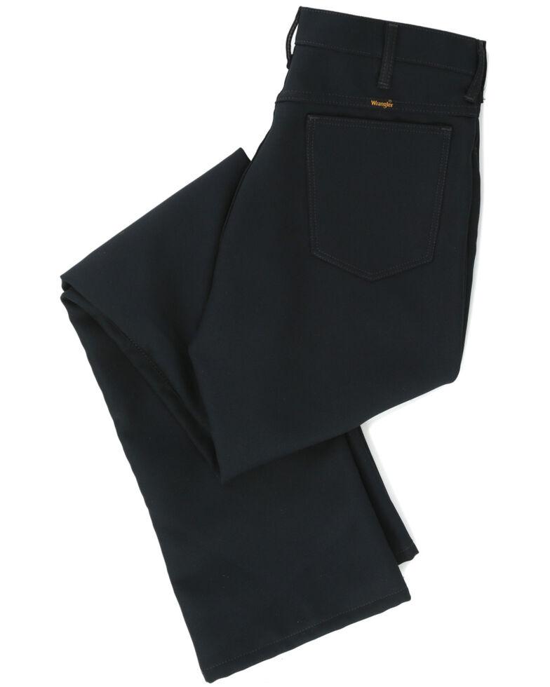Wrangler Wrancher Dress Jeans - Big, Dark Green, hi-res