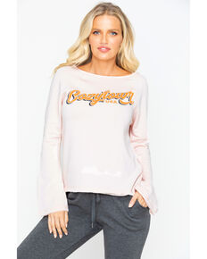 Idyllwind Women's Cozytown Favorite Fleece Top, Blush, hi-res