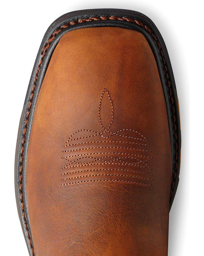 Ariat Men's Workhog  Steel Toe Work Boots, Toast, hi-res