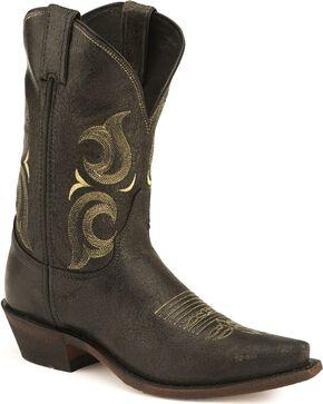 "Justin Men's 11"" Desperado Western Boots, Black, hi-res"