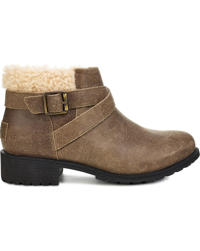 UGG Women's Dove Benson Boots - Round Toe, Brown, hi-res