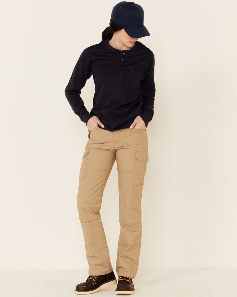 Wrangler Women's Ranger Straight Leg Work Pants, Beige/khaki, hi-res