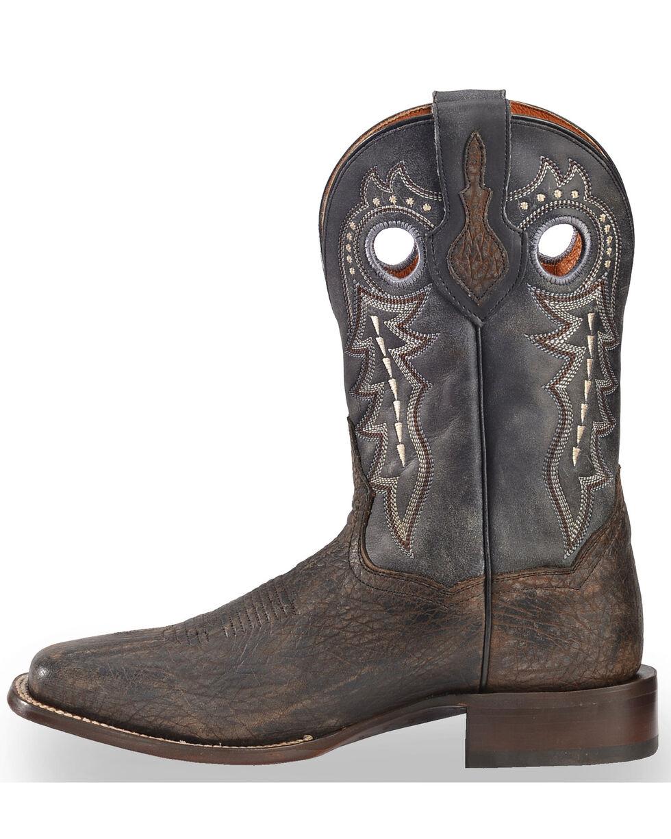 Dan Post Men's Oiled Distressed Stockman Boots, Black, hi-res
