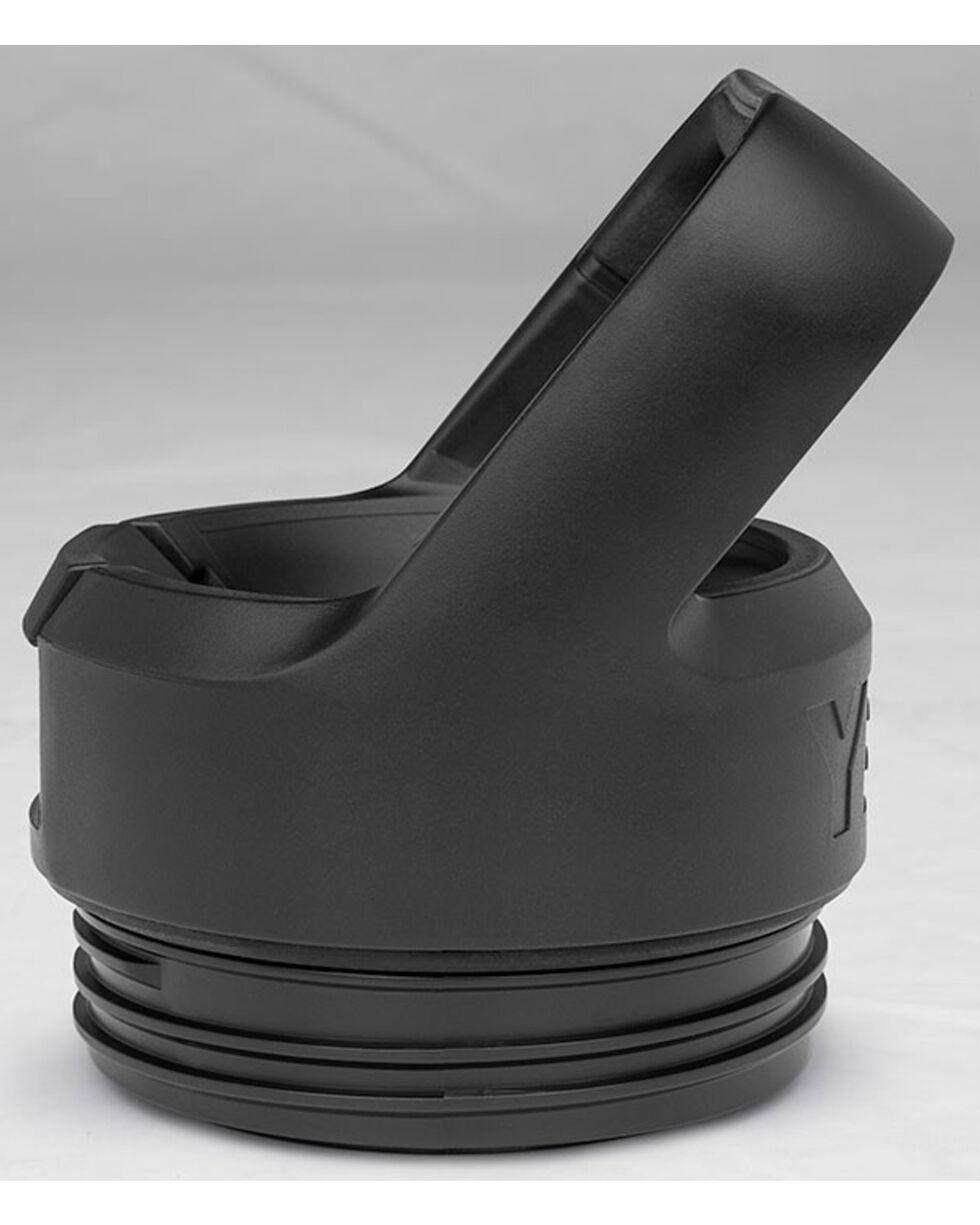 Yeti Black Rambler Bottle Straw Cap , Black, hi-res