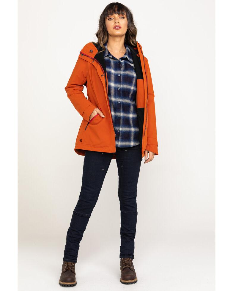 Dovetail Workwear Women's Black Eli Chore Coat, Red, hi-res