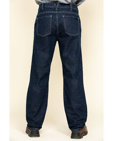 Hawx Men's FR Denim Straight Work Jeans , Indigo, hi-res
