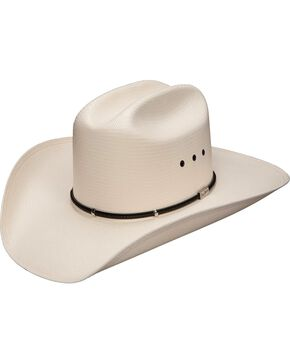 Resistol George Strait Two Step 8X Shantung Straw Cowboy Hat, Natural, hi-res