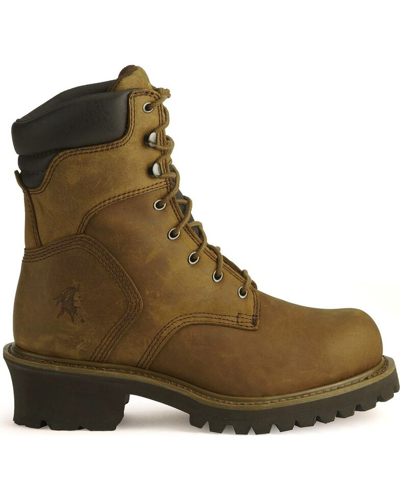 best website 260c1 18554 Chippewa Men's Steel Toe Insulated Logger Work Boots