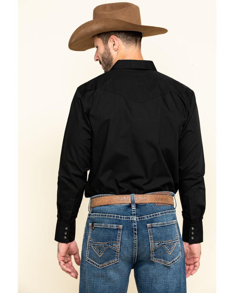 Gibson Men's Black Lava Long Sleeve Snap Shirt, Black, hi-res