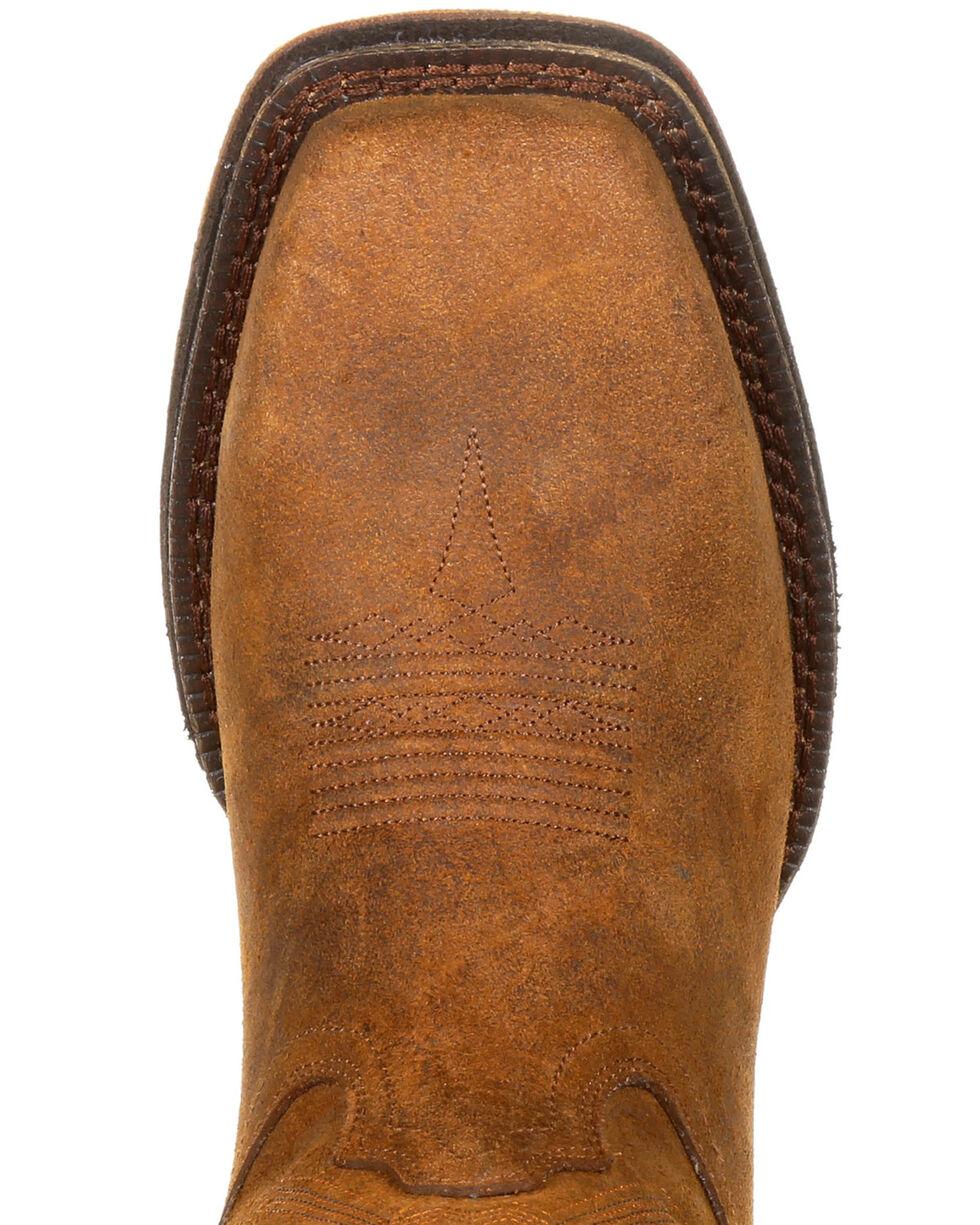 Rocky Men's Renegade Waterproof Western Work Boots - Steel Toe, Distressed Brown, hi-res