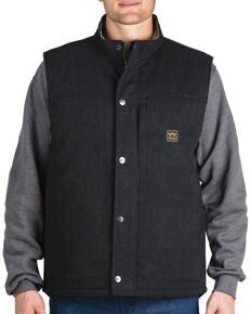Walls Men's Black Point Blank Vest, Black, hi-res