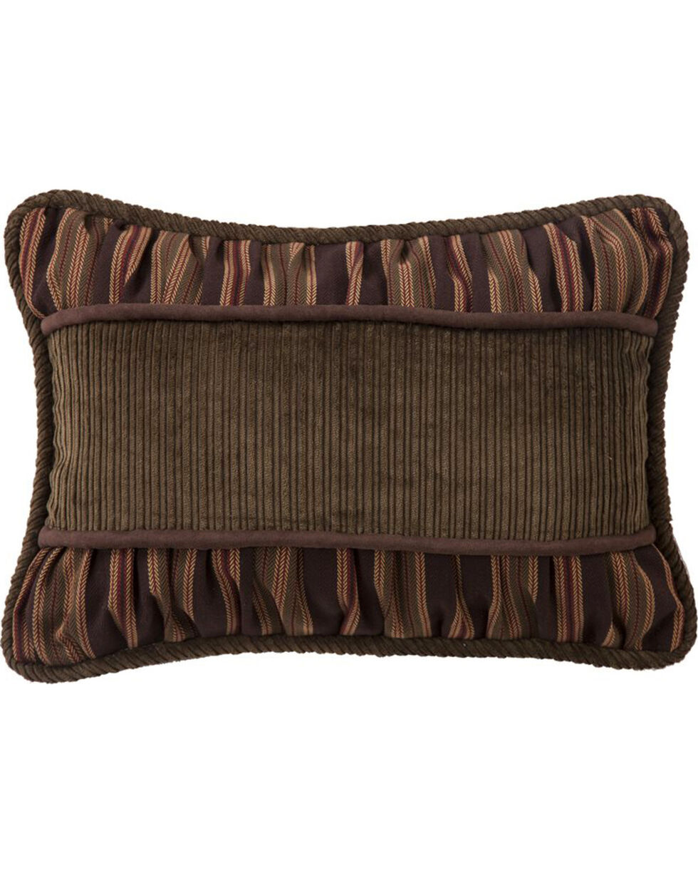 HiEnd Accents Corduroy Pillow with Ruching , Multi, hi-res
