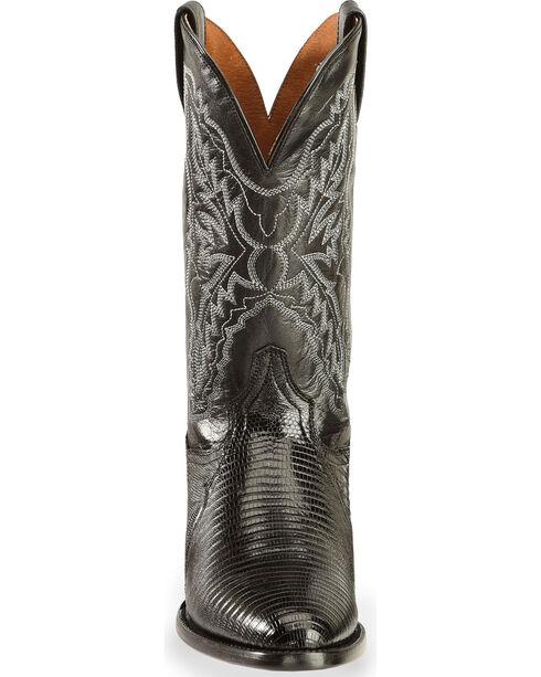 Dan Post Men's Raleigh Lizard Western Boots, Black, hi-res