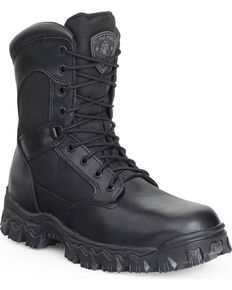 Rocky Men's Alpha Force Military Boots, Black, hi-res