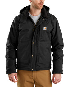Carhartt Men's Full Swing Steel Work Jacket - Big & Tall , Black, hi-res