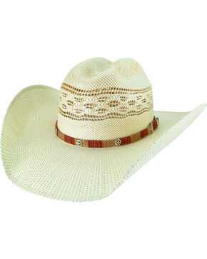 Bailey Men's Spradley Two-Tone Western Hat, Sand, hi-res