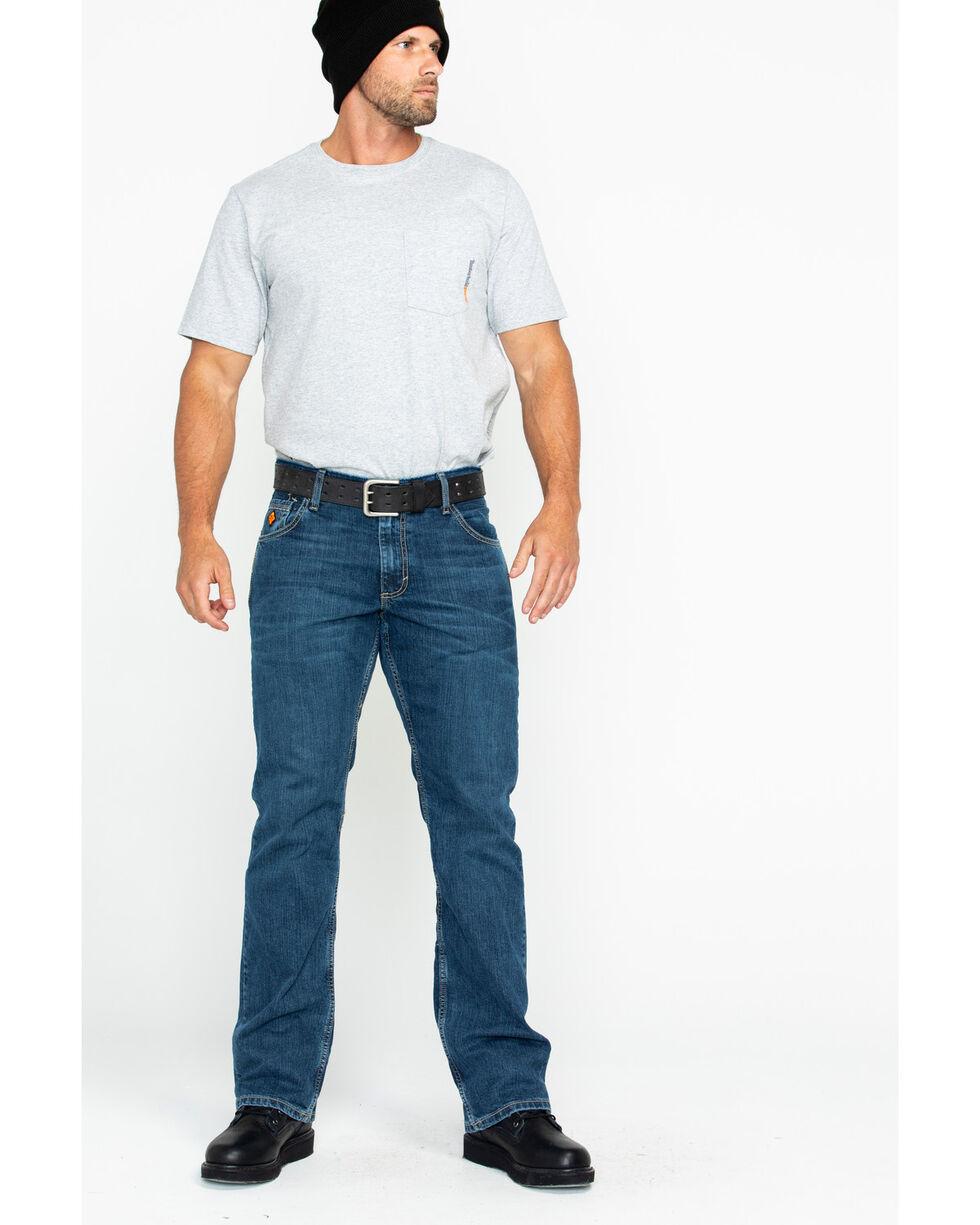Wrangler Retro Men's FR Advanced Comfort Slim Boot Work Jeans , Blue, hi-res