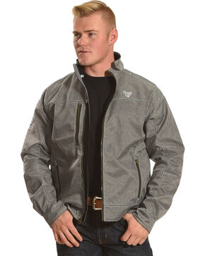 Cowboy Hardware Men's Tech Woodsmen Jacket, Grey, hi-res