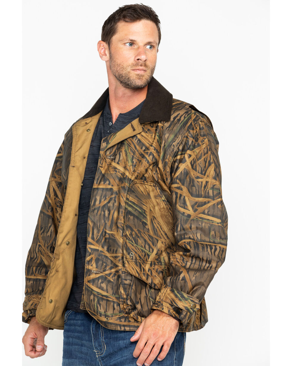 Filson Men's Camo Shelter Waterfowl Upland Work Coat , Camouflage, hi-res