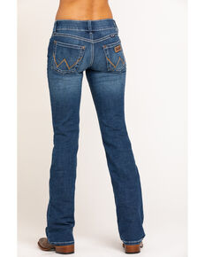 Wrangler Retro Women's Sadie Boot Cut Jeans, Blue, hi-res