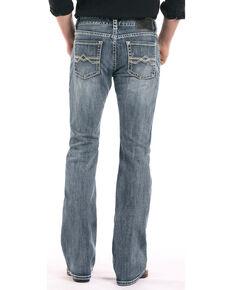 Rock & Roll Cowboy Men's Reflex Pistol Boot Cut Jeans, Light Blue, hi-res