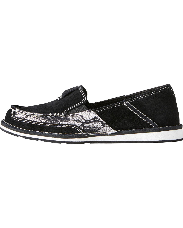 Ariat Women's Black Lace Cruiser Shoes