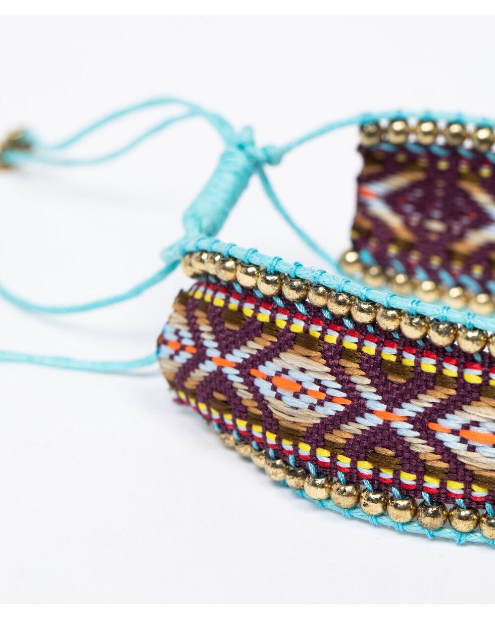 Shyanne Women's Isla Jane Multi-Colored 5 Piece Stretch Bracelet Stacks, Multi, hi-res