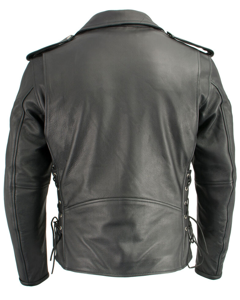 Milwaukee Leather Men S Classic Side Lace Concealed Carry Motorcycle