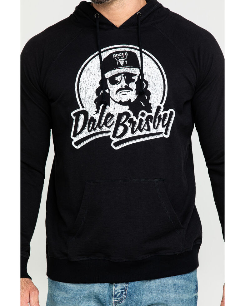 Dale Brisby Men's Logo Graphic Hooded Sweatshirt , Black, hi-res