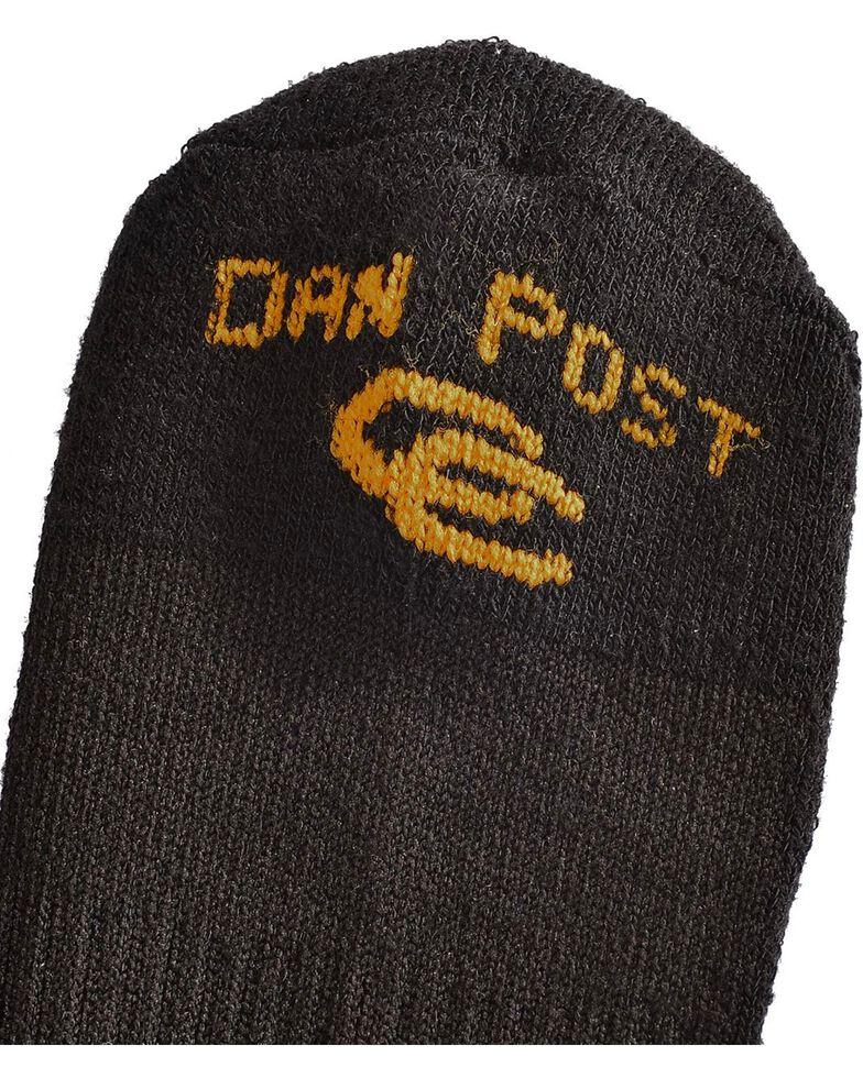 Dan Post Men's Cowboy Certified Over the Calf Socks, Black, hi-res