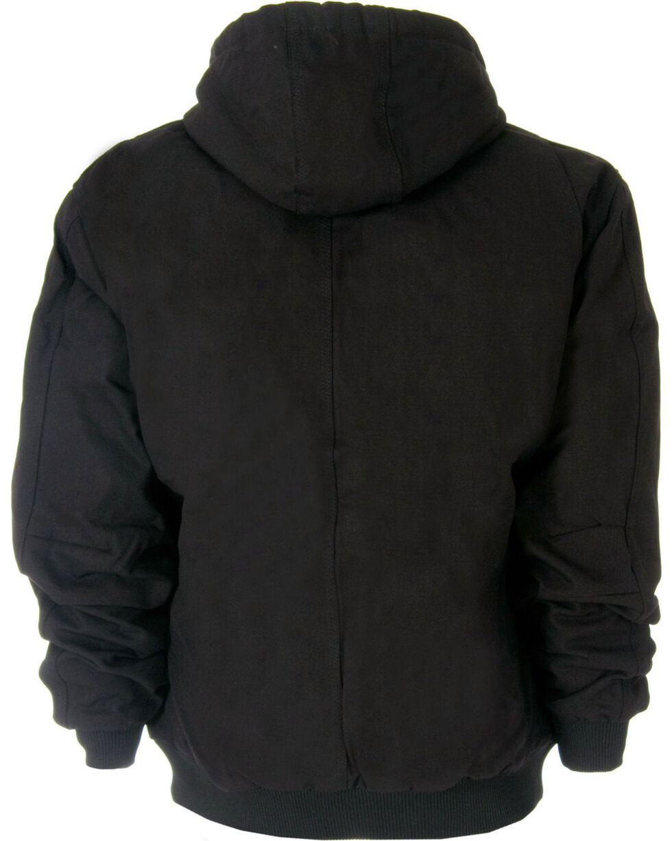 Berne Original Hooded Jacket - 5XT and 6XT, Black, hi-res