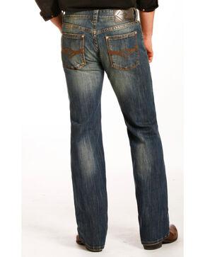 Rock & Roll Cowboy Men's Reflex Pistol Straight Leg Jeans, Indigo, hi-res