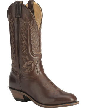 "Boulet Men's 13"" Western Dress Toe Cowboy Boots, Tan, hi-res"